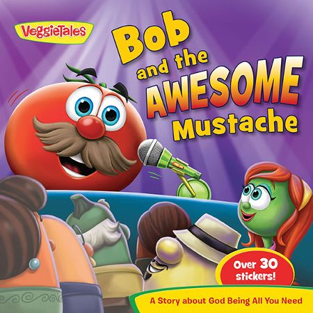 Bob and the Awesome Frosting Mustache (book)