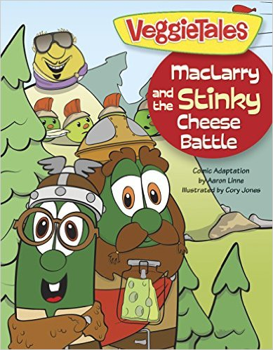 MacLarry and the Stinky Cheese Battle (book)