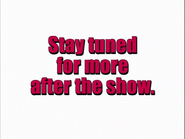 Stay tuned for more after the show