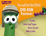 Dave and the Giant Pickle DVD Rom Menu