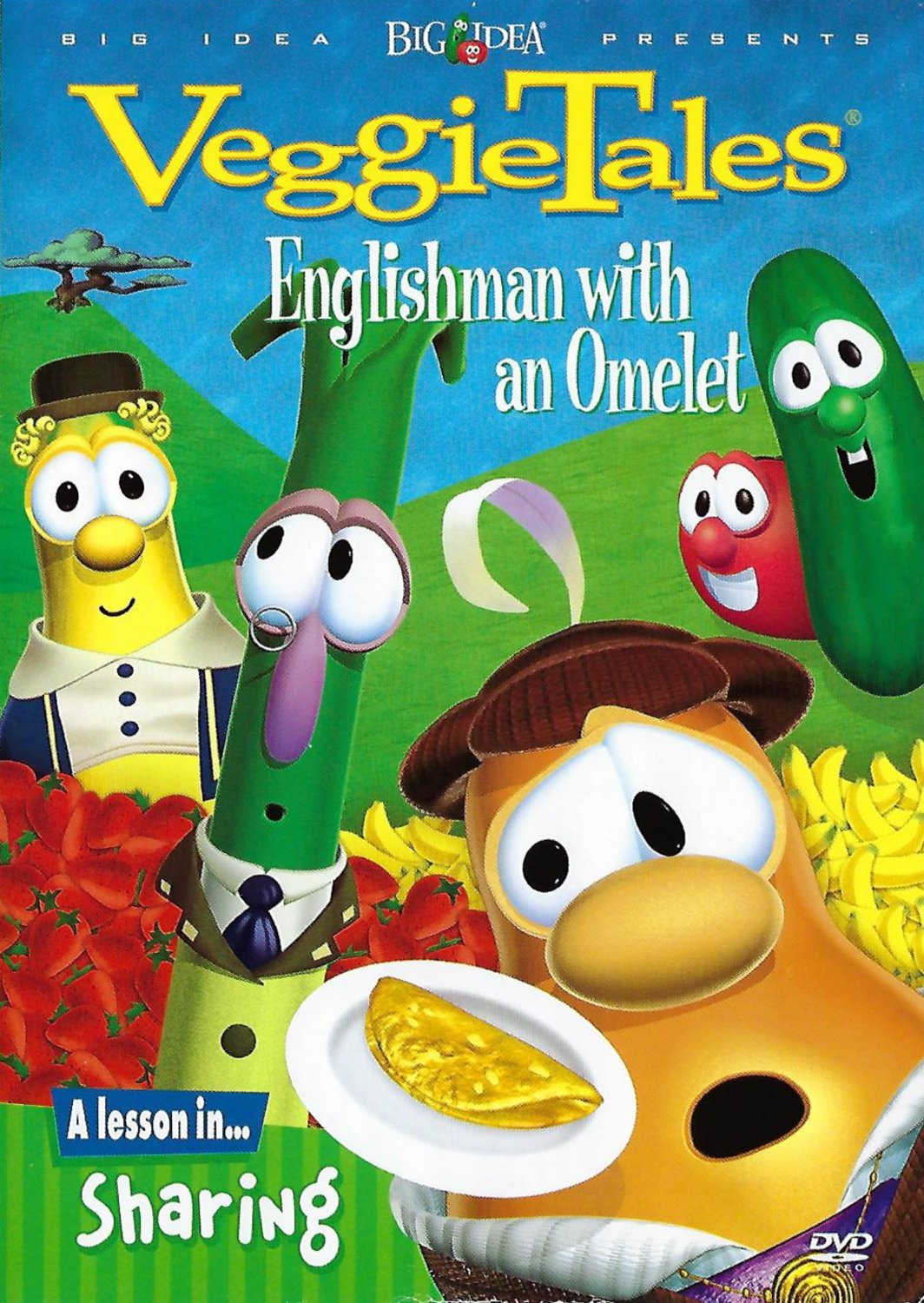 Englishman with an Omelet