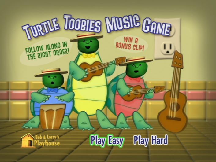 Turtle Toobies Music Game