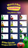 The VeggieTales Show Schedule
