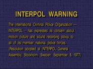 Lyrick Studios Interpol Warning Screen 2 1996-2003
