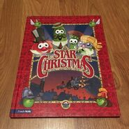 VeggieTales The Star of Christmas Hardcover book