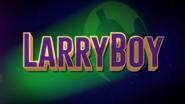 LarryBoy Intro Logo