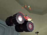 Monster Truck Flower Delivery