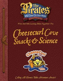 Cheesecurl Cave Snacks and Science