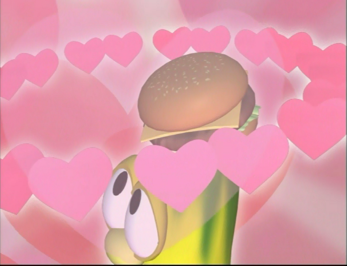 His Cheeseburger