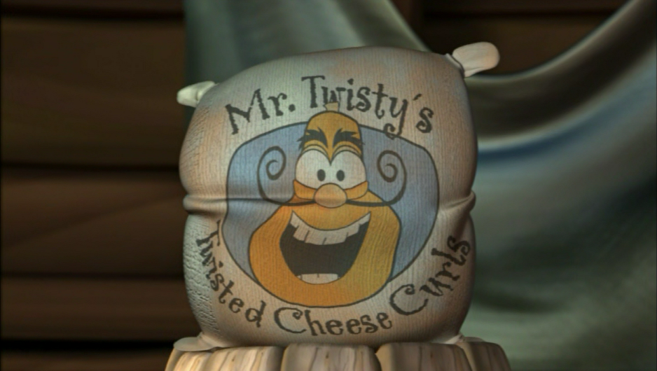 Mr. Twisty's Twisted Cheese Curls