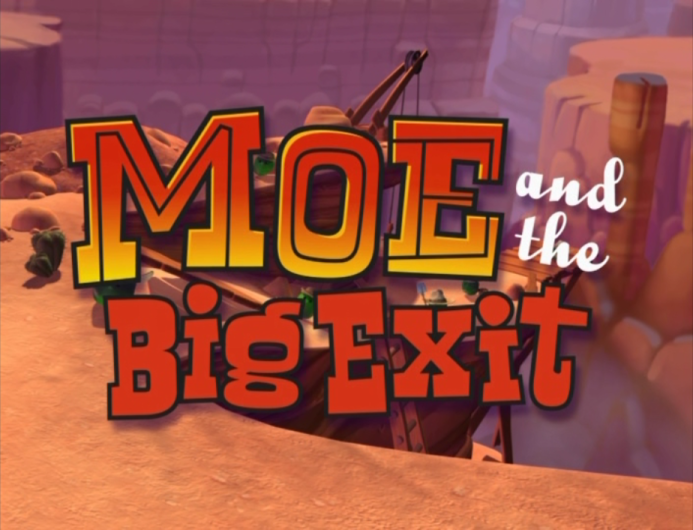 Moe and the Big Exit/Commentary