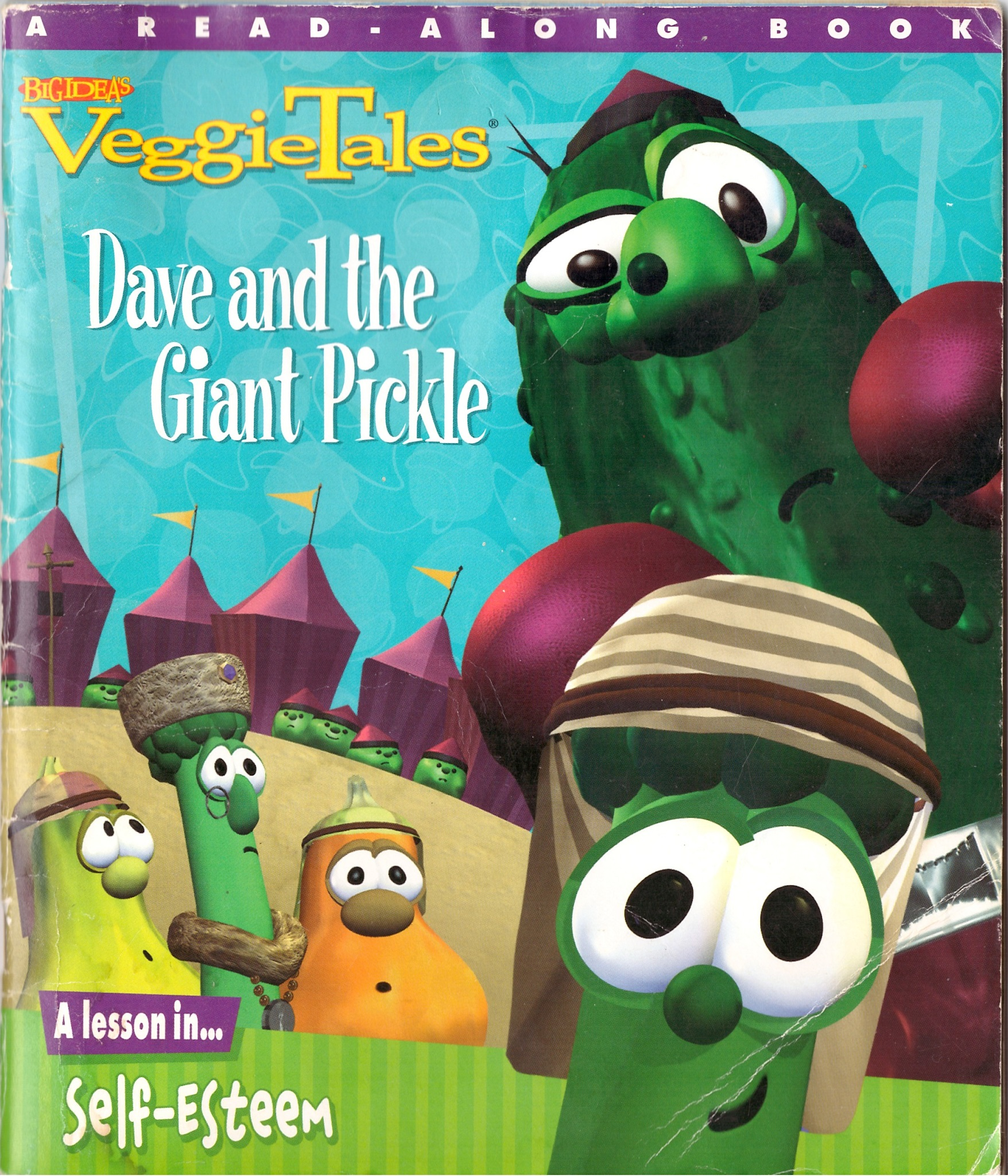 Dave and the Giant Pickle (book)/Credits