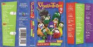 Veggie Tunes 2 Cassette case (Christian Bookstore Release)