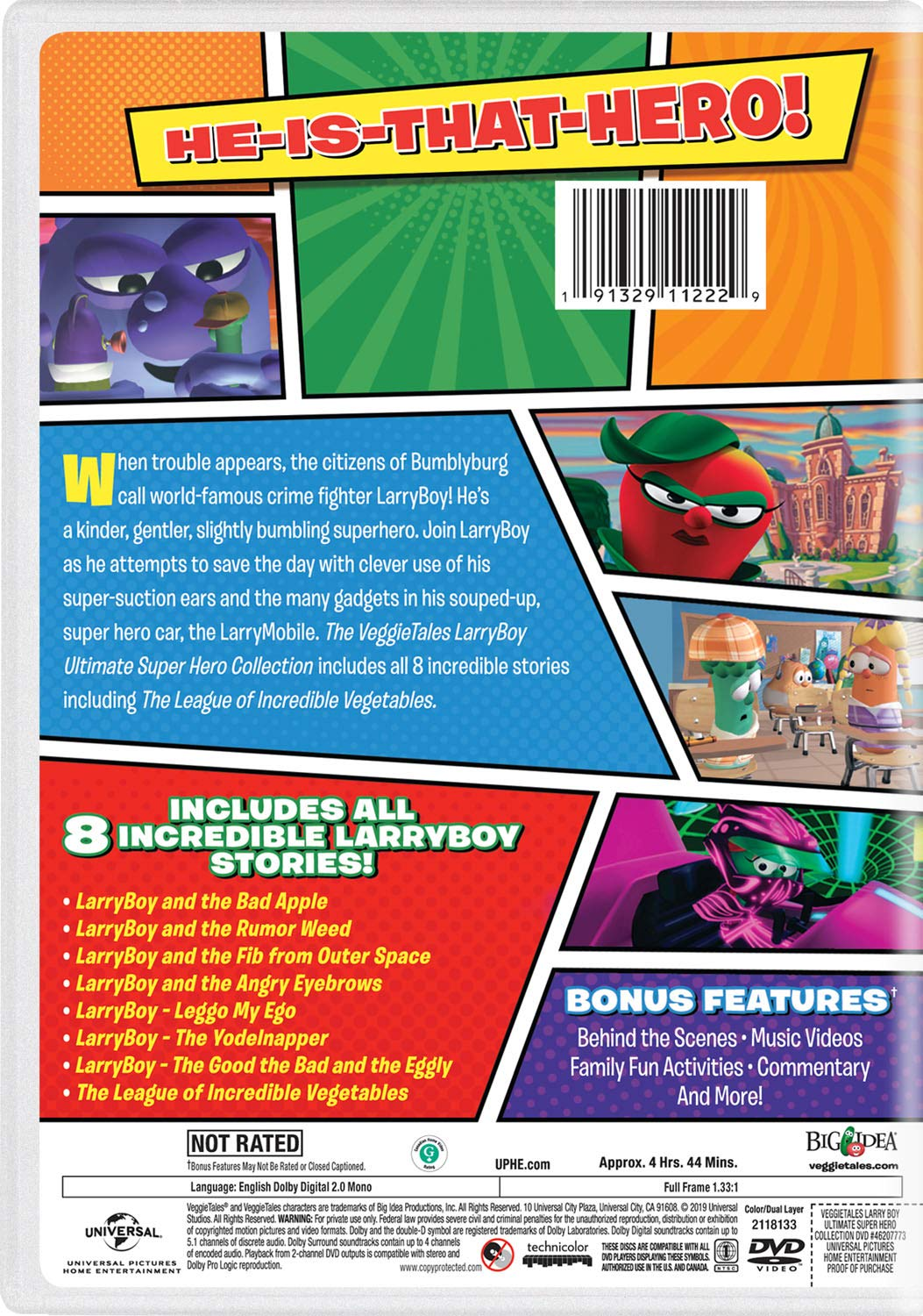 LarryBoy Ultimate Super Hero Collection