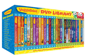 VeggieTales DVD Library and Teaching System