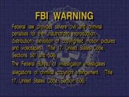 Lyrick Studios FBI Warning Screen 1996-2003