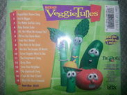 The 1998 Lyrick Studios reprinted CD back cover of Big Idea's VeggieTunes includes a list of Songs from the hit Videos