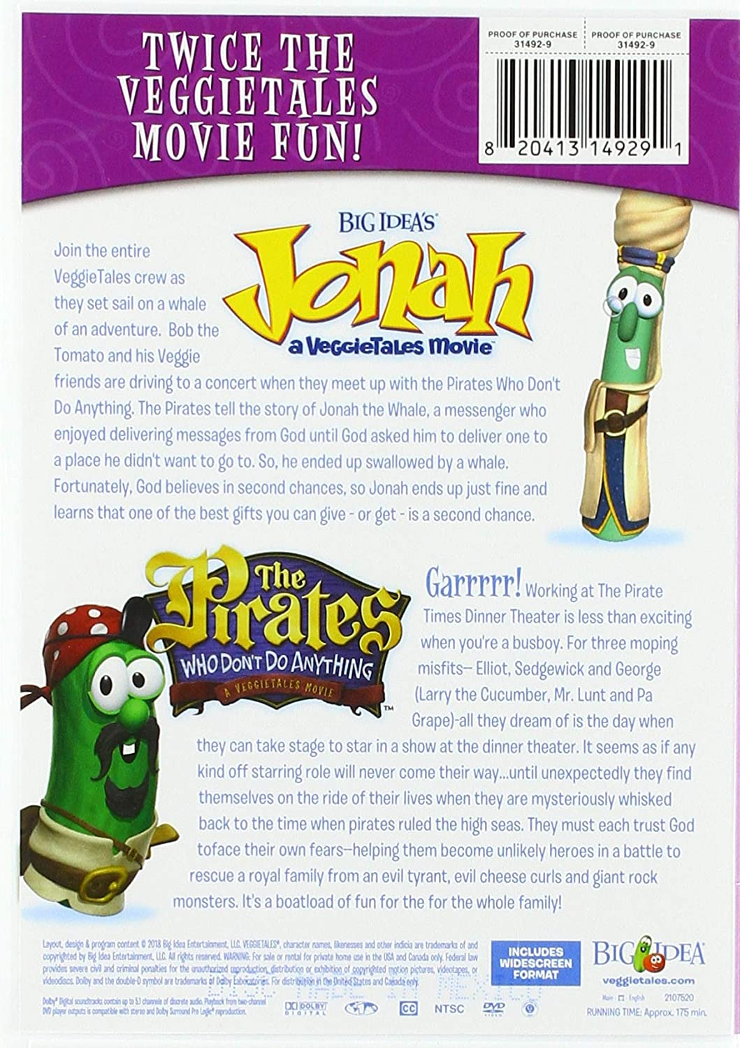 Jonah/The Pirates Double Feature