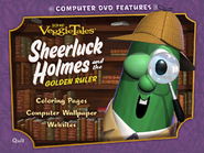 Sheerluck Holmes DVD Rom Menu