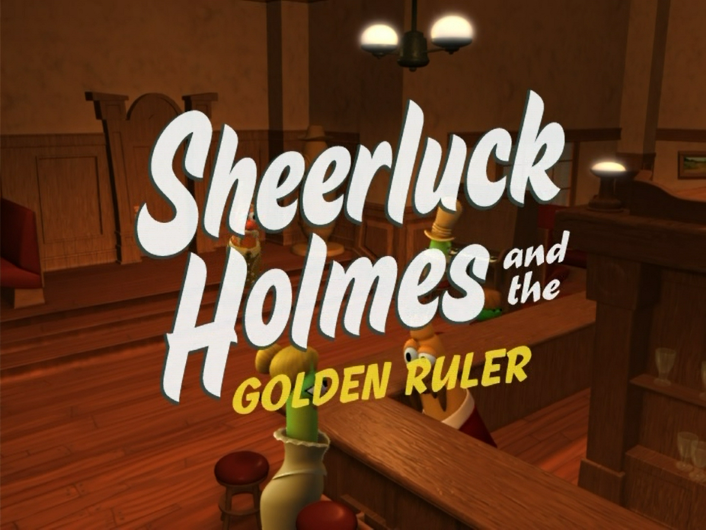 Sheerluck Holmes and the Golden Ruler/Character Commentary
