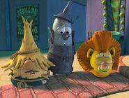 Tin Man,Scarecrow,and Lion