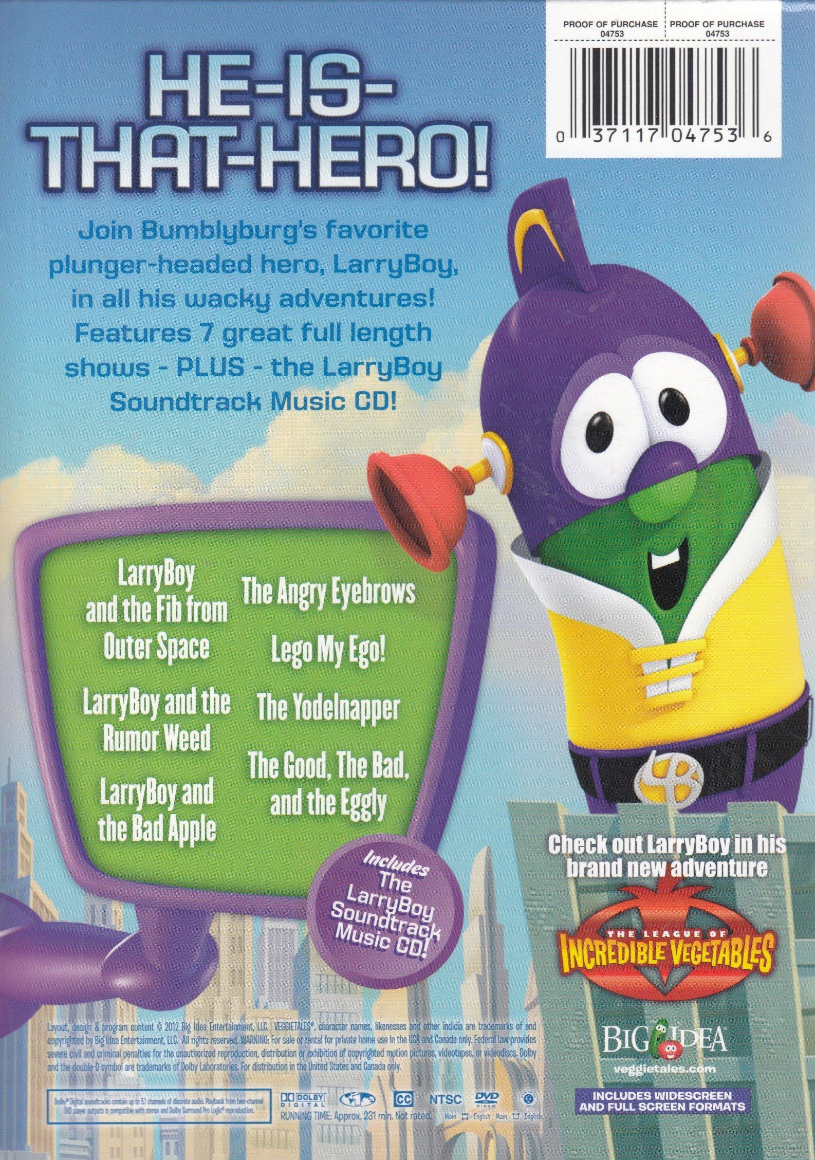 LarryBoy Superhero Power Pack