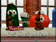 VeggieTales Classics Rack, Shack and Benny trailer