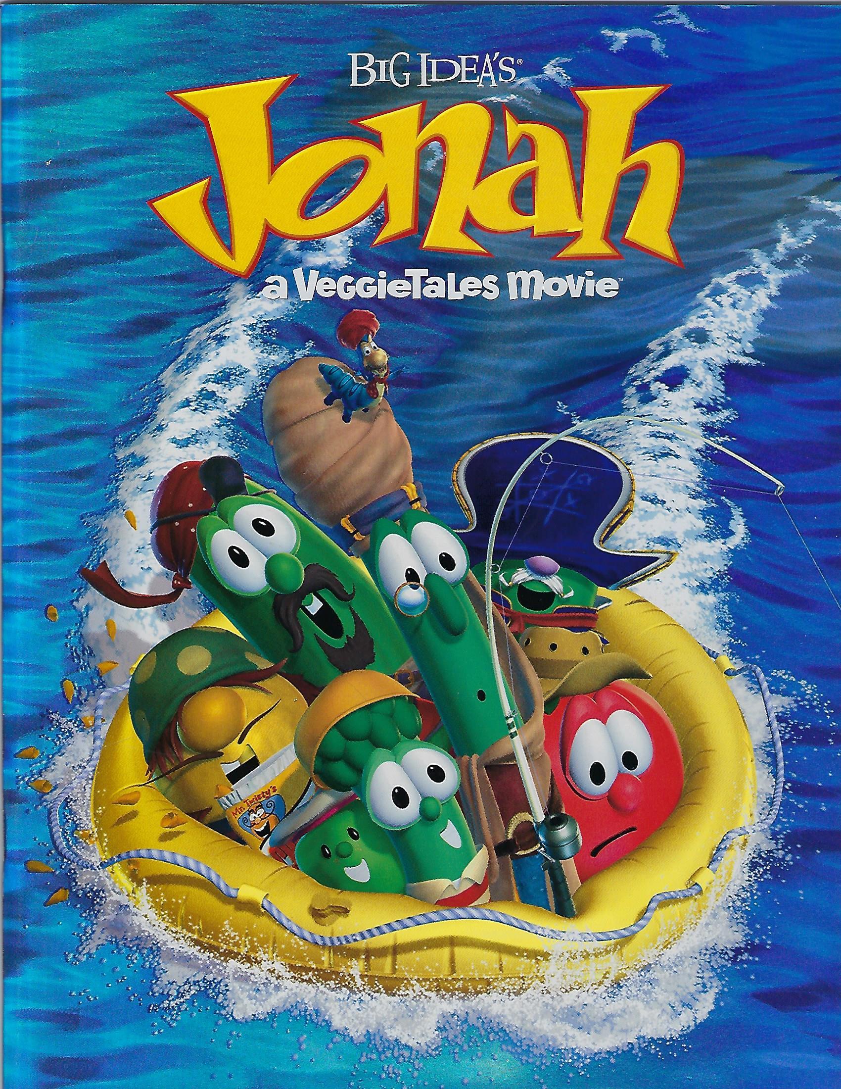 Jonah: a VeggieTales Movie Promotional Booklet