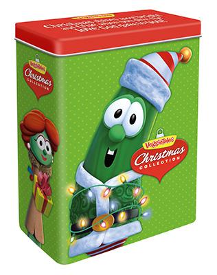 VeggieTales Christmas Tin