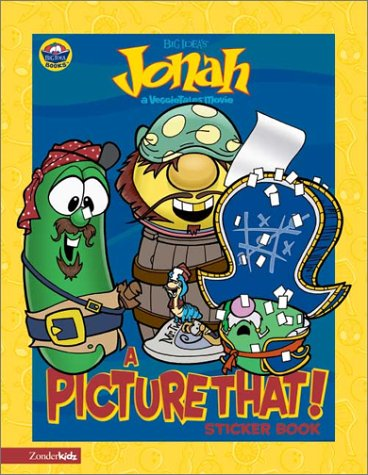 Jonah: A Picture That! Sticker Book