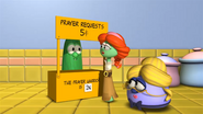 Peanuts reference in VeggieTales