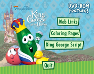 King George and the Ducky DVD Rom Menu