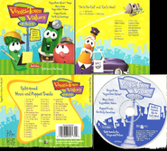 VeggieTown Values On the Job! CD Cover Scans