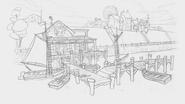 Huckleberry Dock