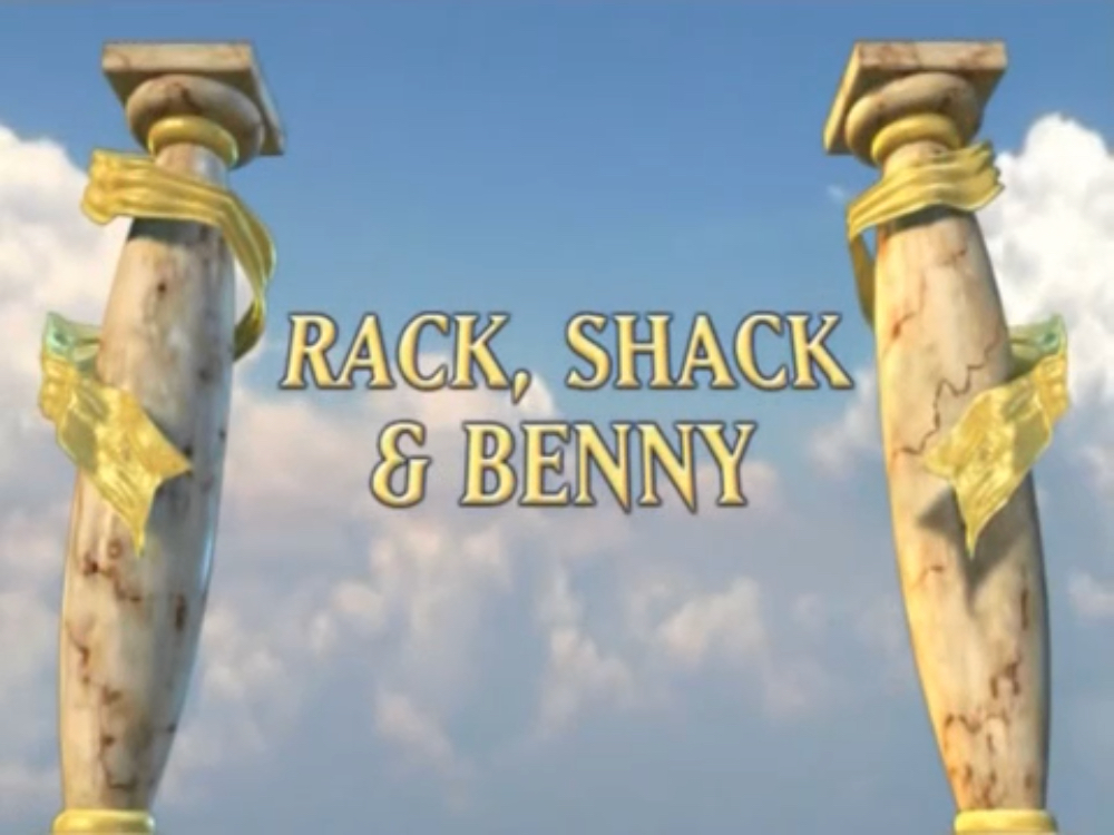 Rack, Shack and Benny (episode)/Commentary