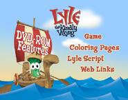 Lyle the Kindly Viking DVD Rom Menu