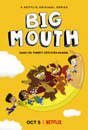 Big Mouth Season 2 Alternate Poster