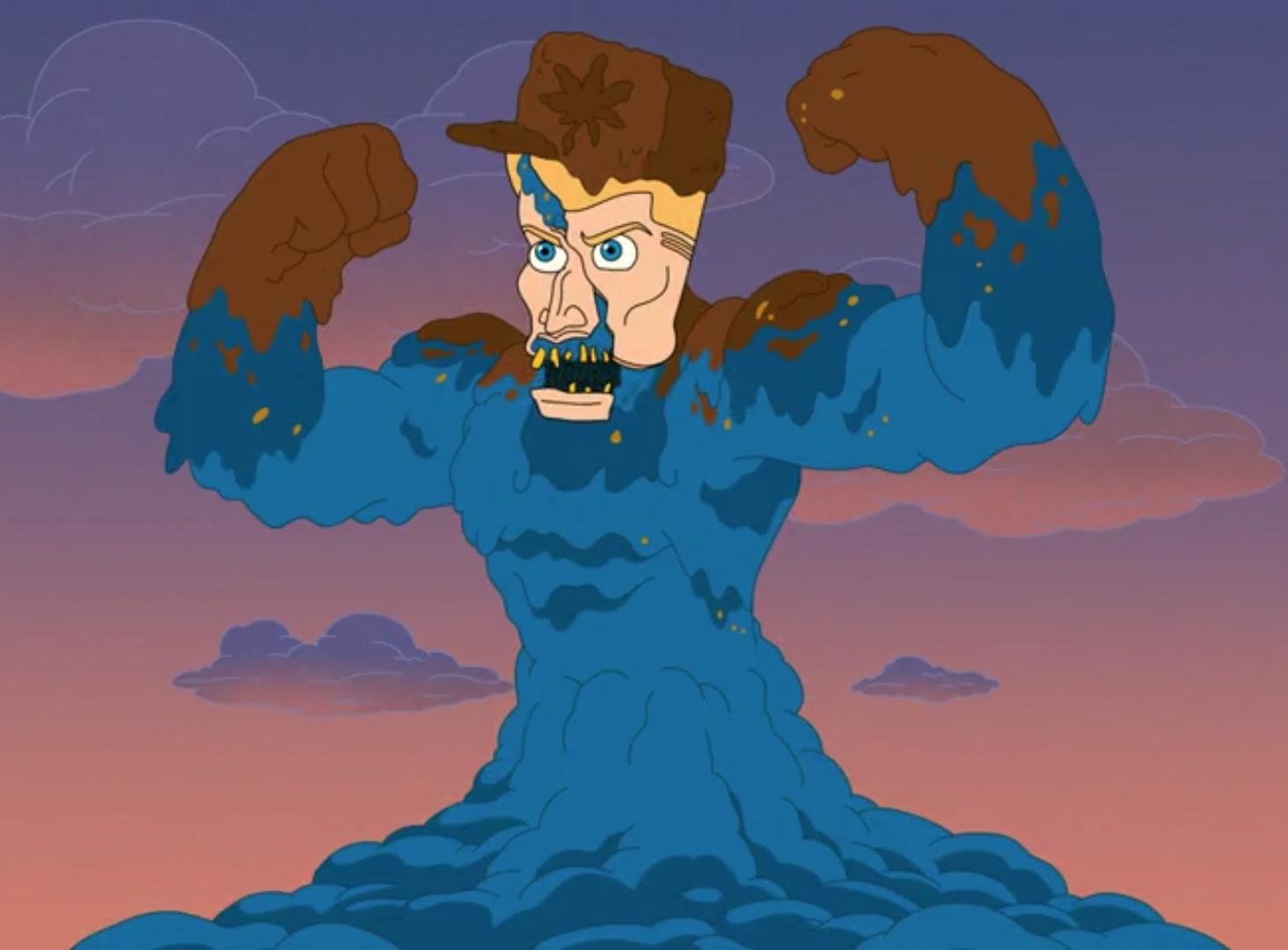 Dolph Lundgren Shit Monster