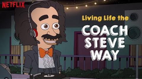 Living Life the Coach Steve Way Big Mouth Netflix