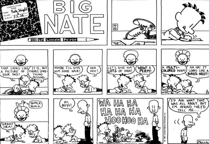 Comic Strip: February 24, 1991