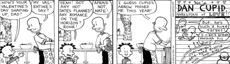 Comic Strip: February 13, 2003
