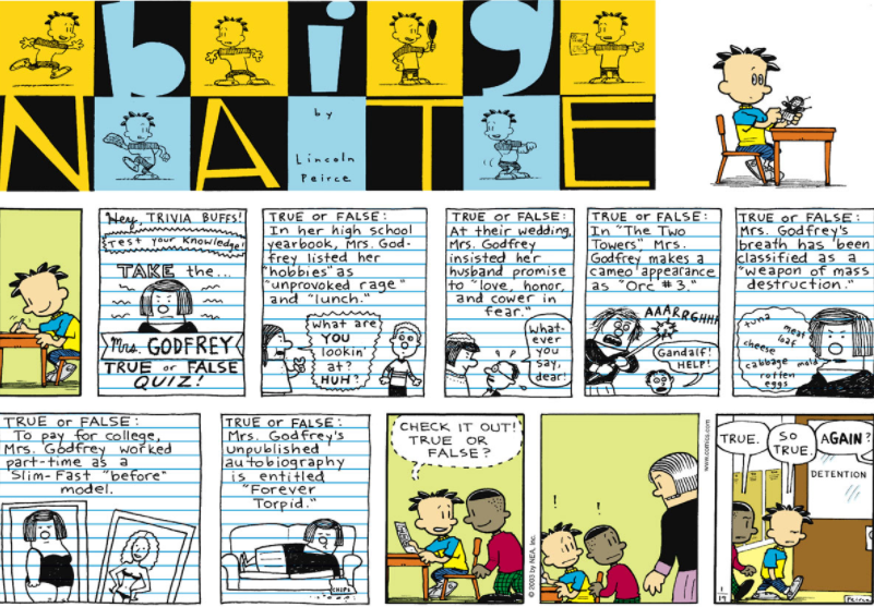 Comic Strip: January 19, 2003