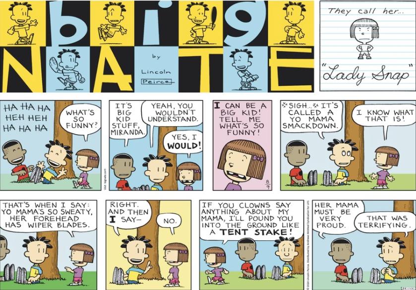 Comic Strip: August 9, 2020
