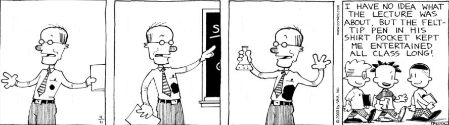 Comic Strip: April 11, 2003