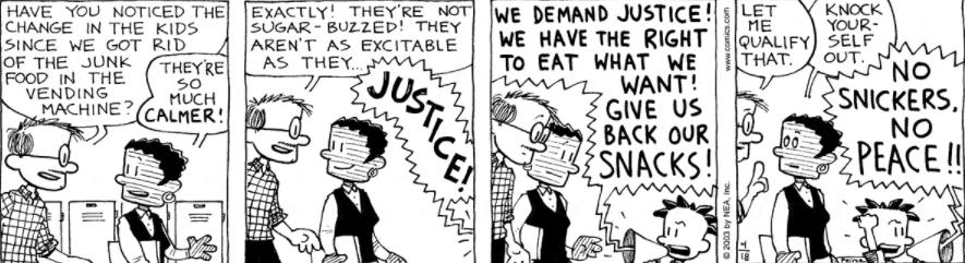 Comic Strip: April 18, 2003