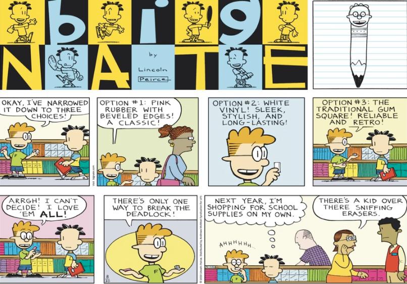 Comic Strip: August 30, 2020