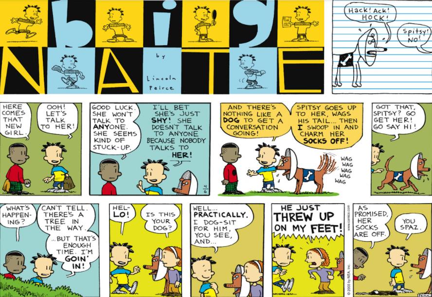 Comic Strip: April 6, 2003