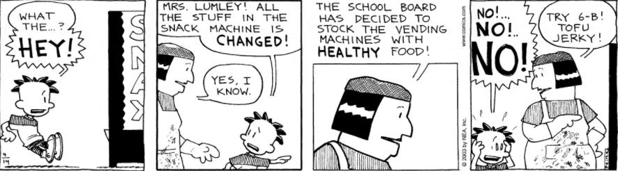 Comic Strip: April 14, 2003