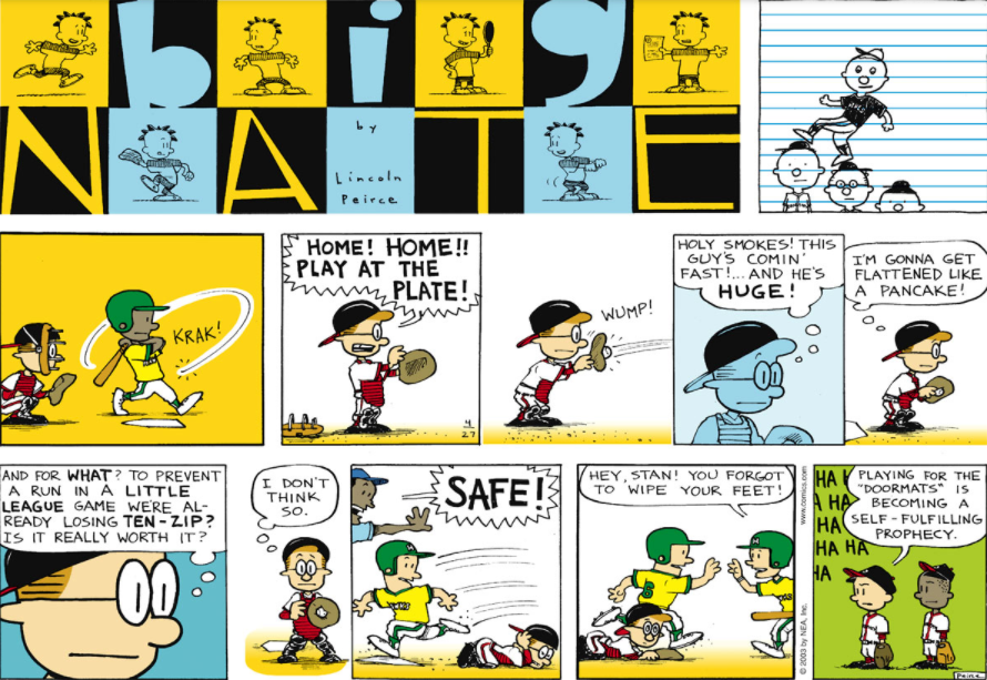 Comic Strip: April 27, 2003