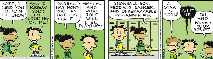 Comic Strip: December 20, 2019